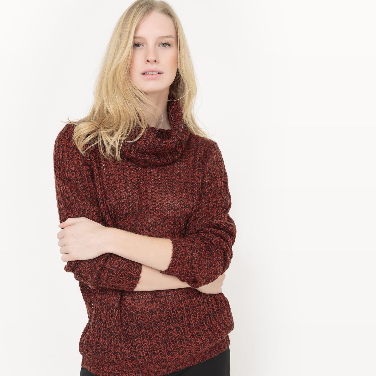 Пуловер MIMEI PULLПуловер MIMEI PULL от B .YOUNG   . Пуловер прямого покроя . Длинные рукава. Отворачивающийся воротник. Состав и описание :Материал : 100% акрилМарка : B.YOUNG<br><br>Цвет: бордовый