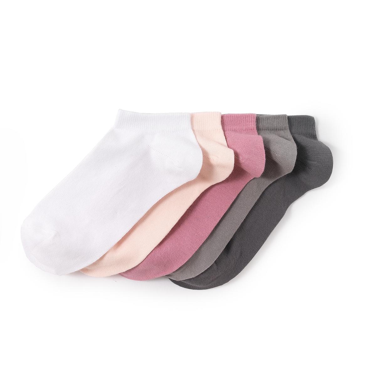 Комплект из 5 пар коротких носков из хлопка комплект из 5 пар коротких носков из хлопка