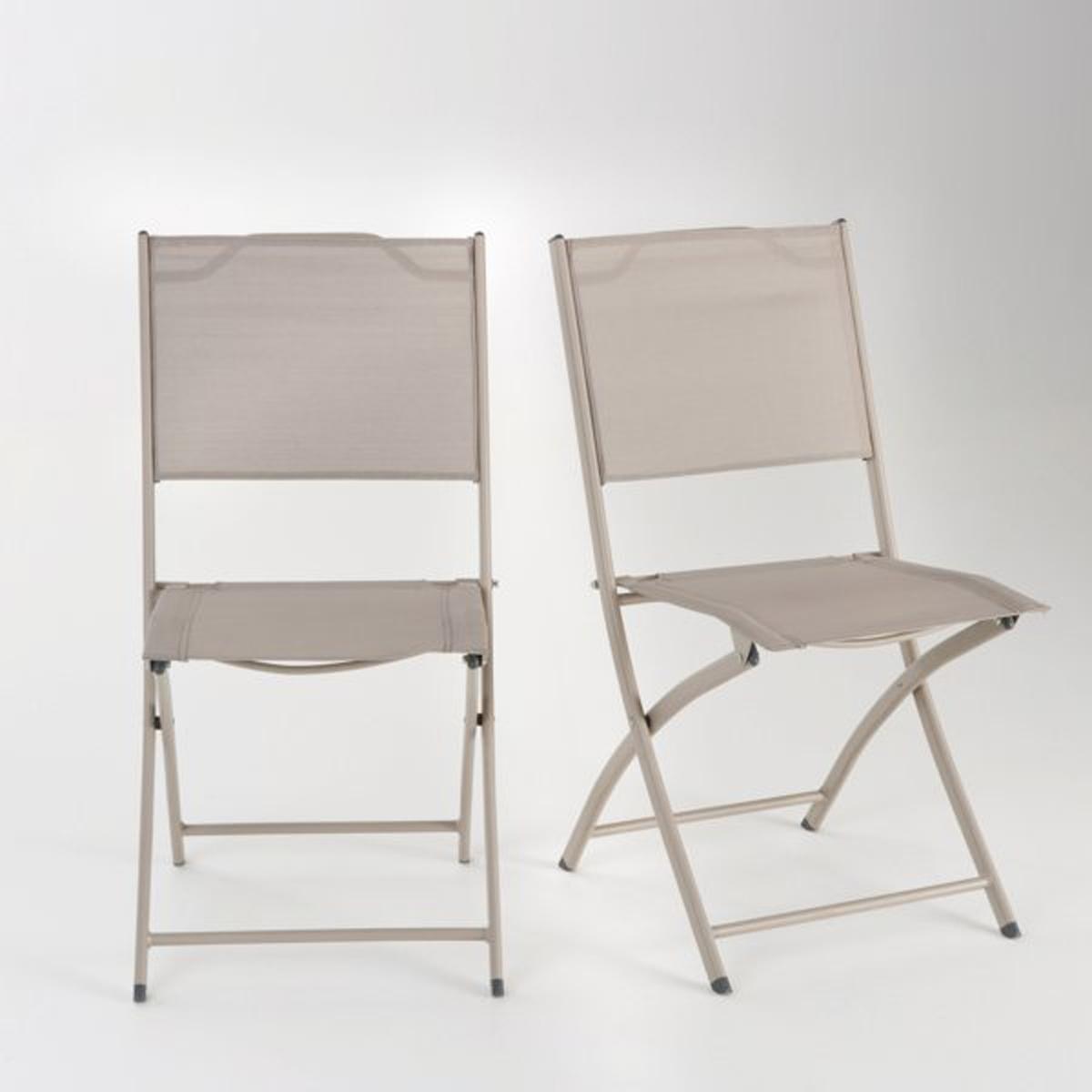 2 складных садовых стулаХарактеристики 2 садовых стульев из полиэстеровой ткани с покрытием ПВХ :- Каркас из стали с покрытием эпоксидной эмалью  .- Сиденье и спинка из полиэстеровых волокон с покрытием ПВХ  .2 садовых стула поставляются в собранном виде  .Текстиль может находиться на улице, в вашем саду или на террасе, в течение всего теплого сезона, и не потерять свой внешний вид, в отличие от обычной ткани  . Простой уход: достаточно протереть мебель слегка мыльной водой и прополоскать чистой  . Текстиль пропускает воздух, прочный и сохнет быстро на открытом воздухе  . Рекомендуется убирать мебель с приходом зимы  .Размеры :- Общие : 49 x 87 x 56 см  Эти 2 садовых складных стула из эвкалипта FSC будут доставлены, если необходимо, до вашей квартиры (бесплатно)  ..<br><br>Цвет: серо-коричневый каштан