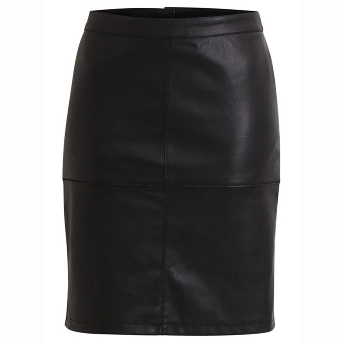 цена на Юбка-карандаш La Redoute С разрезом Vipen Skirt XS черный