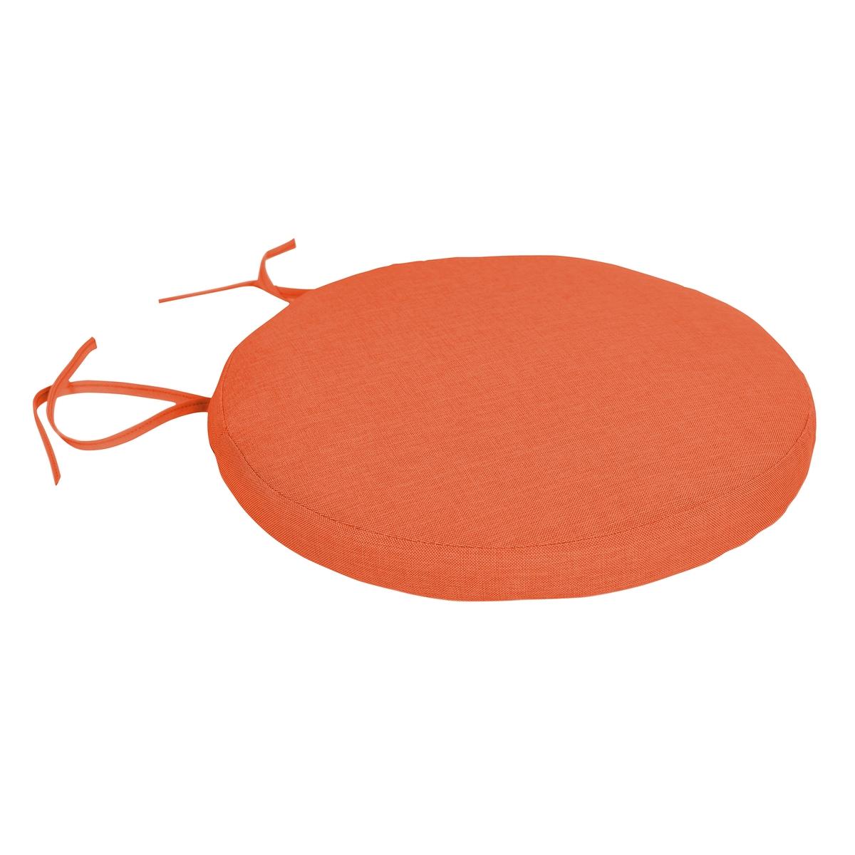Подушка для стула круглая съёмная SUNAE (комплект из 2 подушек) подушка для стульев комфорт 40 40