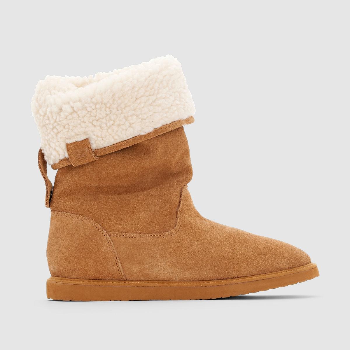 Ботинки Erin J Boot BrnСтильные и теплые ботинки от Roxy защитят вас от холода этой зимой!<br><br>Цвет: темно-бежевый<br>Размер: 40