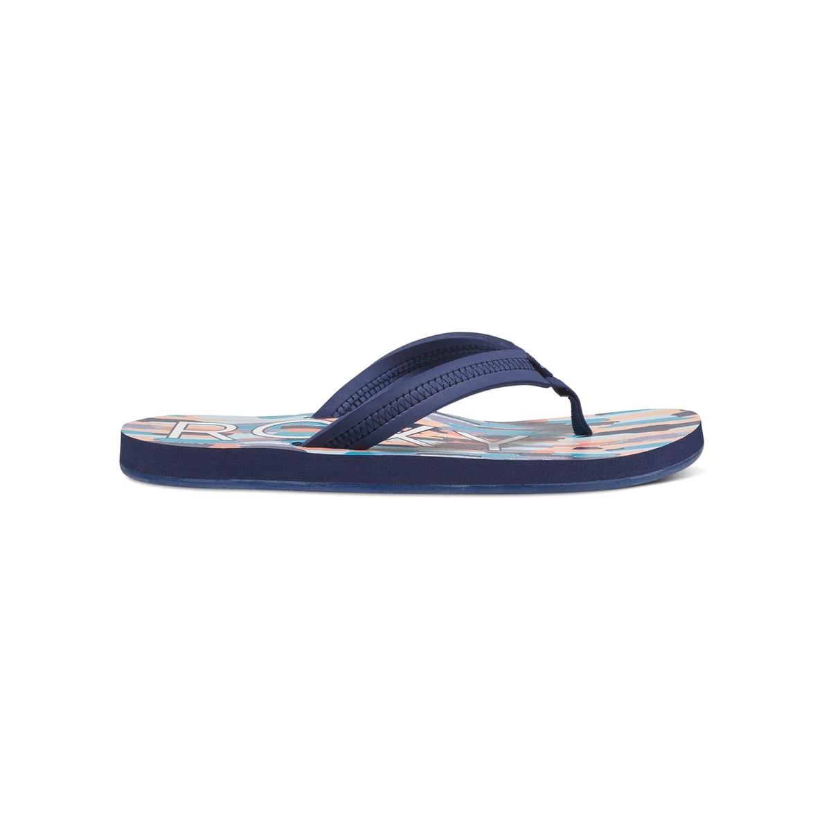 Вьетнамки VistaВерх : синтетика   Подошва : каучук   Форма каблука : плоский каблук   Мысок : открытый мысок   Застежка : без застежки<br><br>Цвет: темно-синий