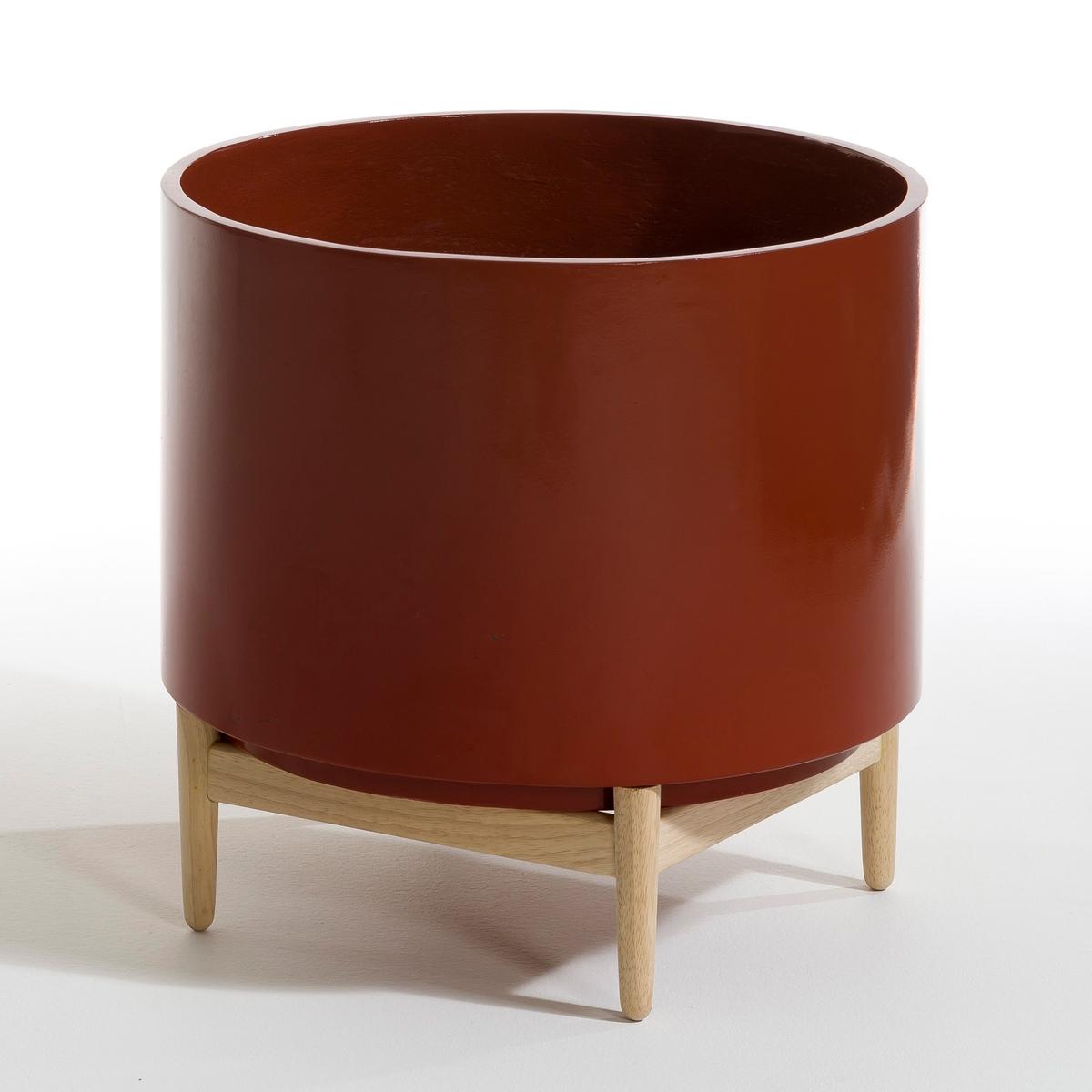Кашпо La Redoute В см Florian единый размер каштановый стула la redoute барных watford единый размер каштановый