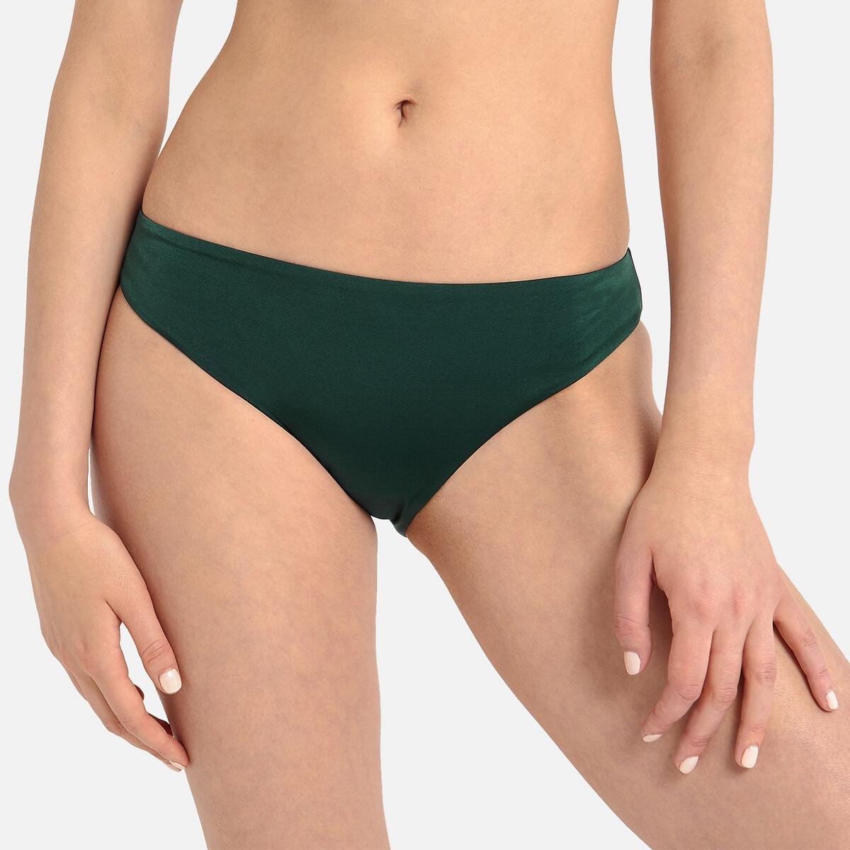 Плавки LaRedoute От купальника форма бикини 36 (FR) - 42 (RUS) зеленый