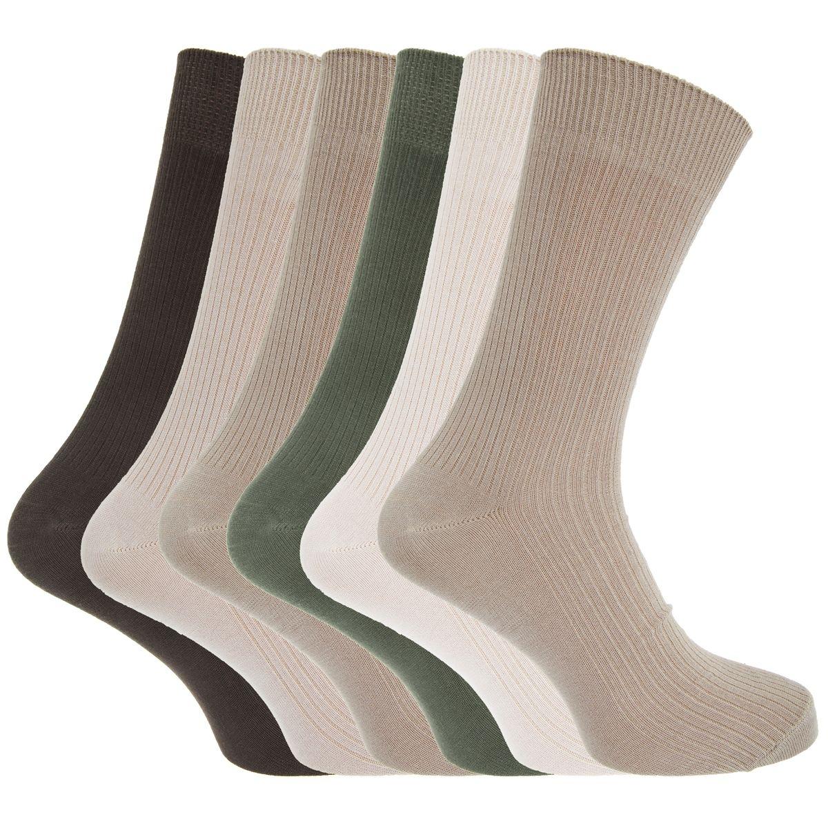 Chaussettes côtelées