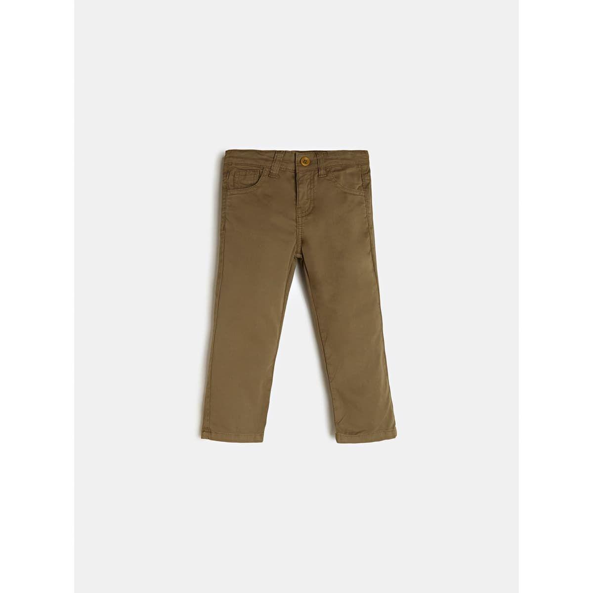 Pantalon Coupe Skinny Teinture Pièce