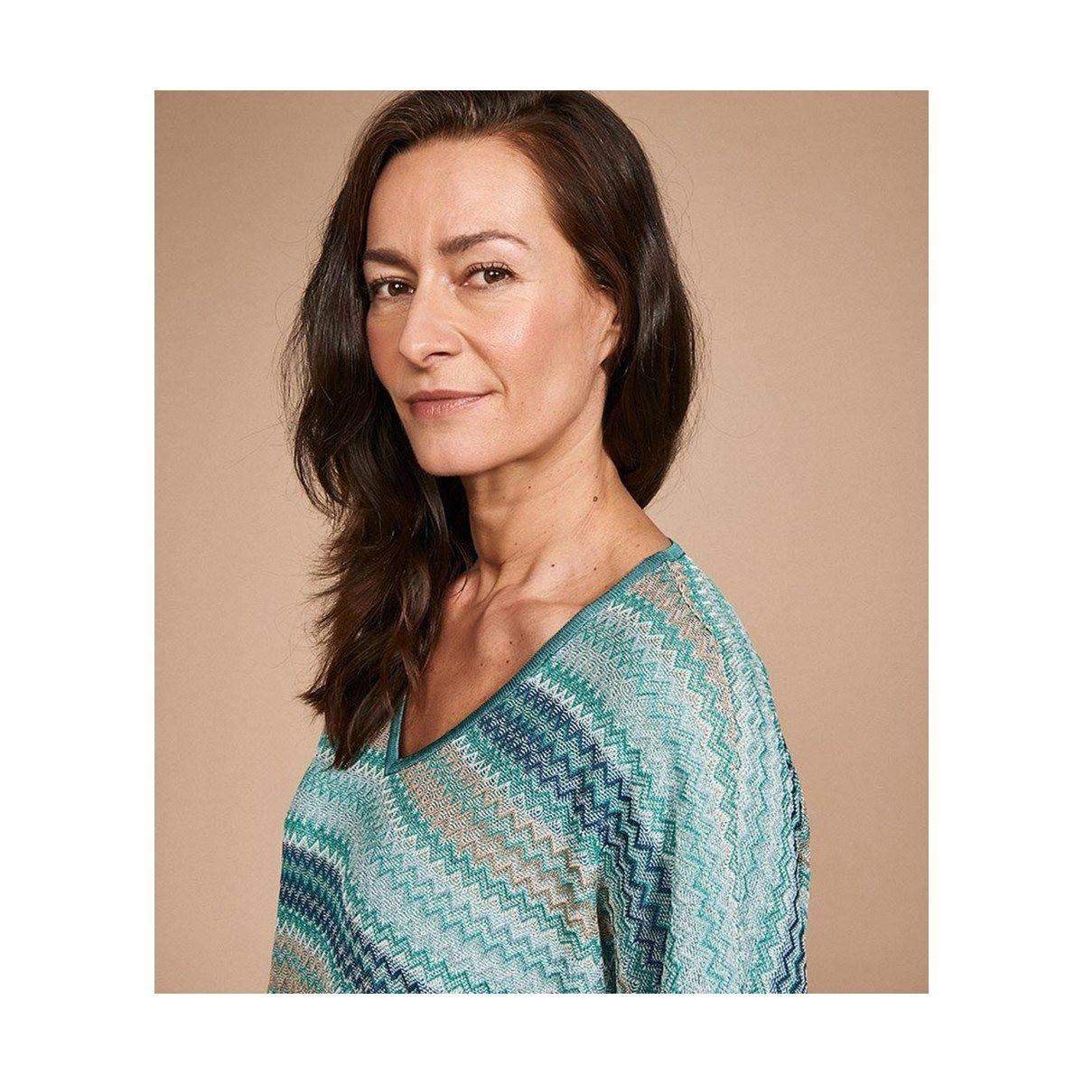 Pull souple en maille tricoté en France