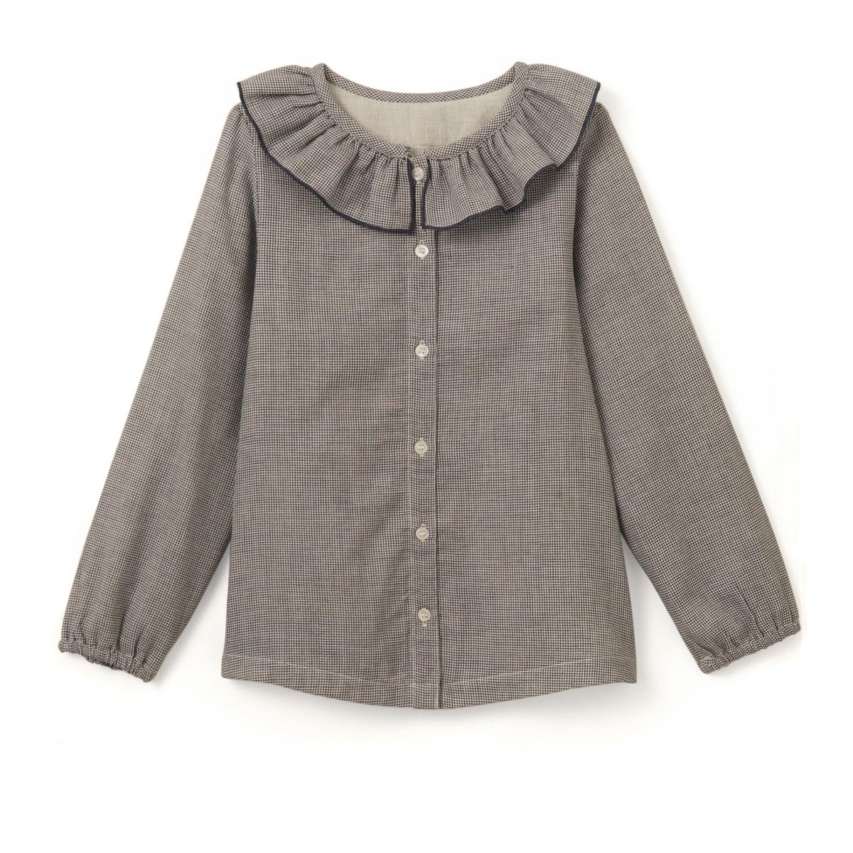 Рубашка в маленькую клетку 3-12 лет рубашка в клетку 3 12 лет