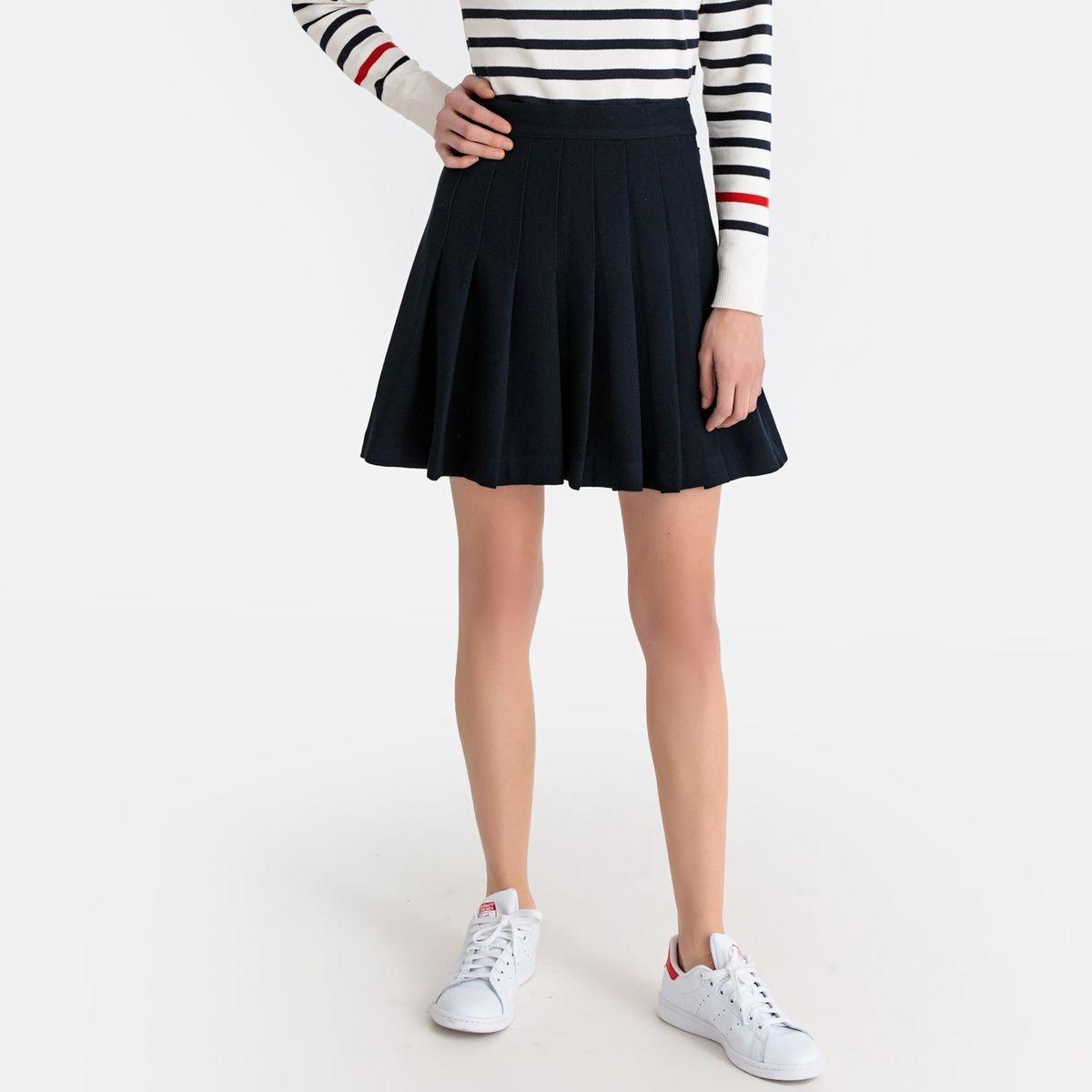 Jupe plissée courte