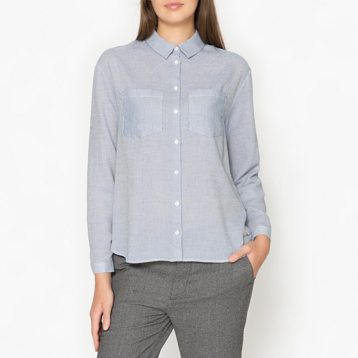 Рубашка в полоску CARINE рубашка harris wilson harris wilson ha019emjmc63