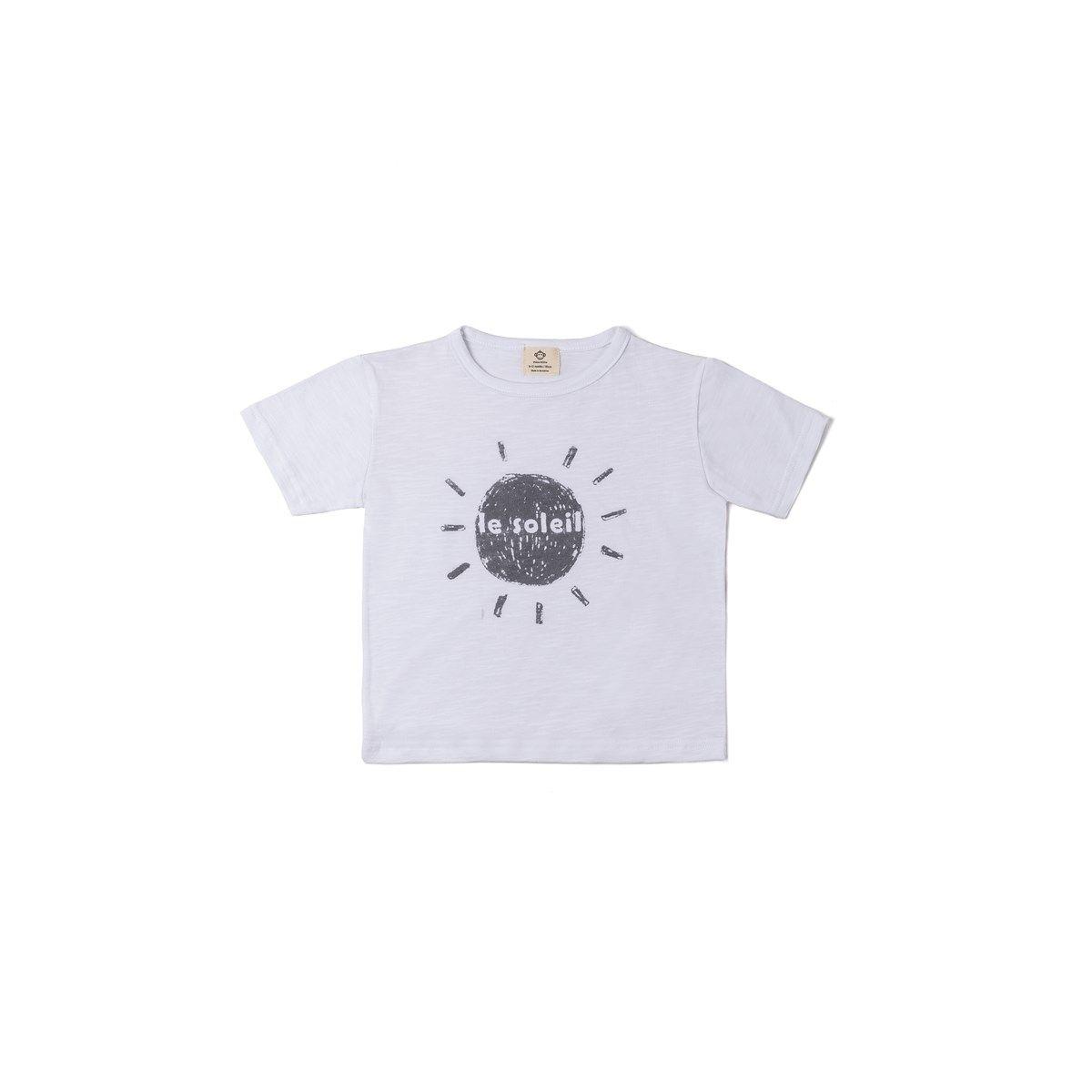 T-shirt coton bio SOLEIL