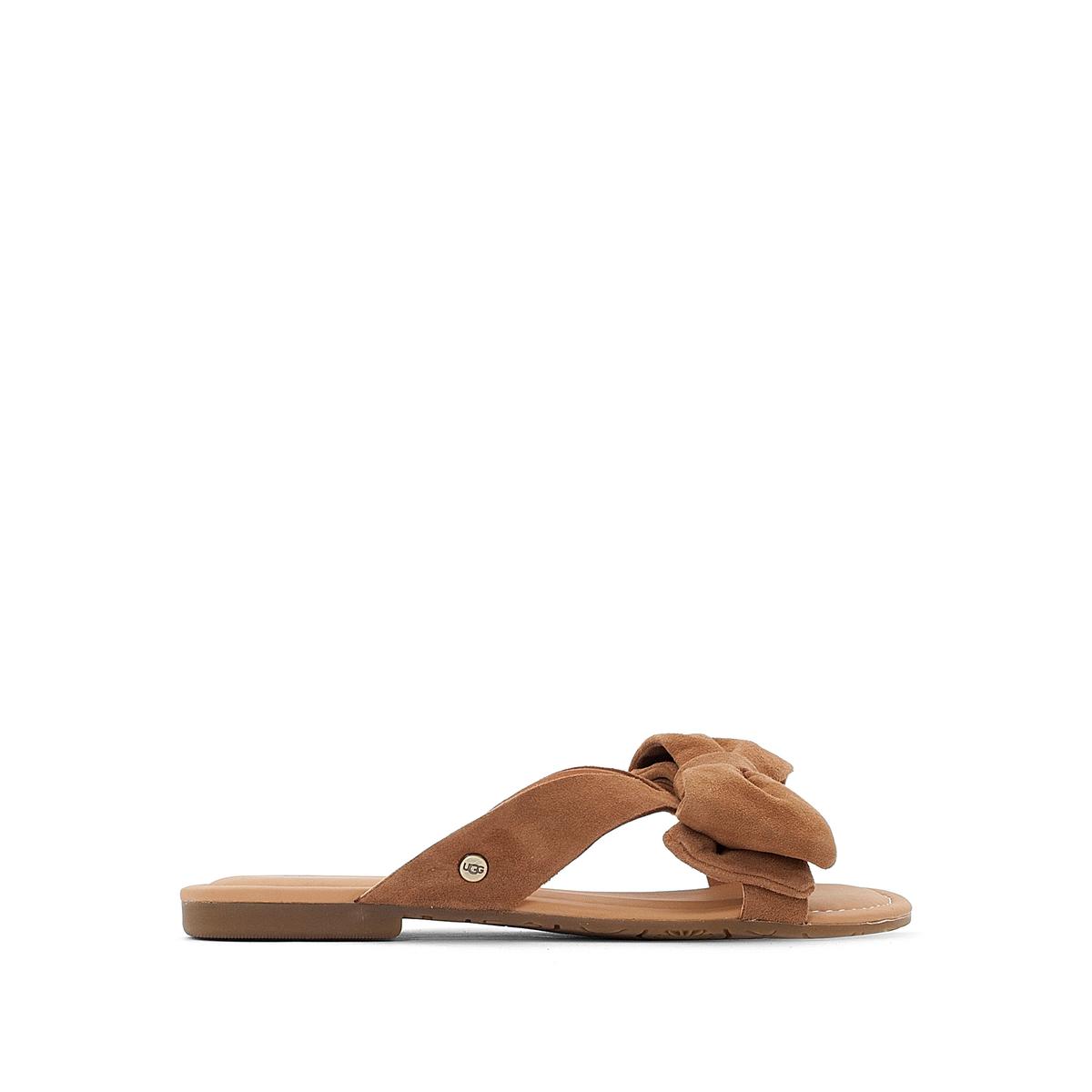 Туфли без задника кожаные, Fonda