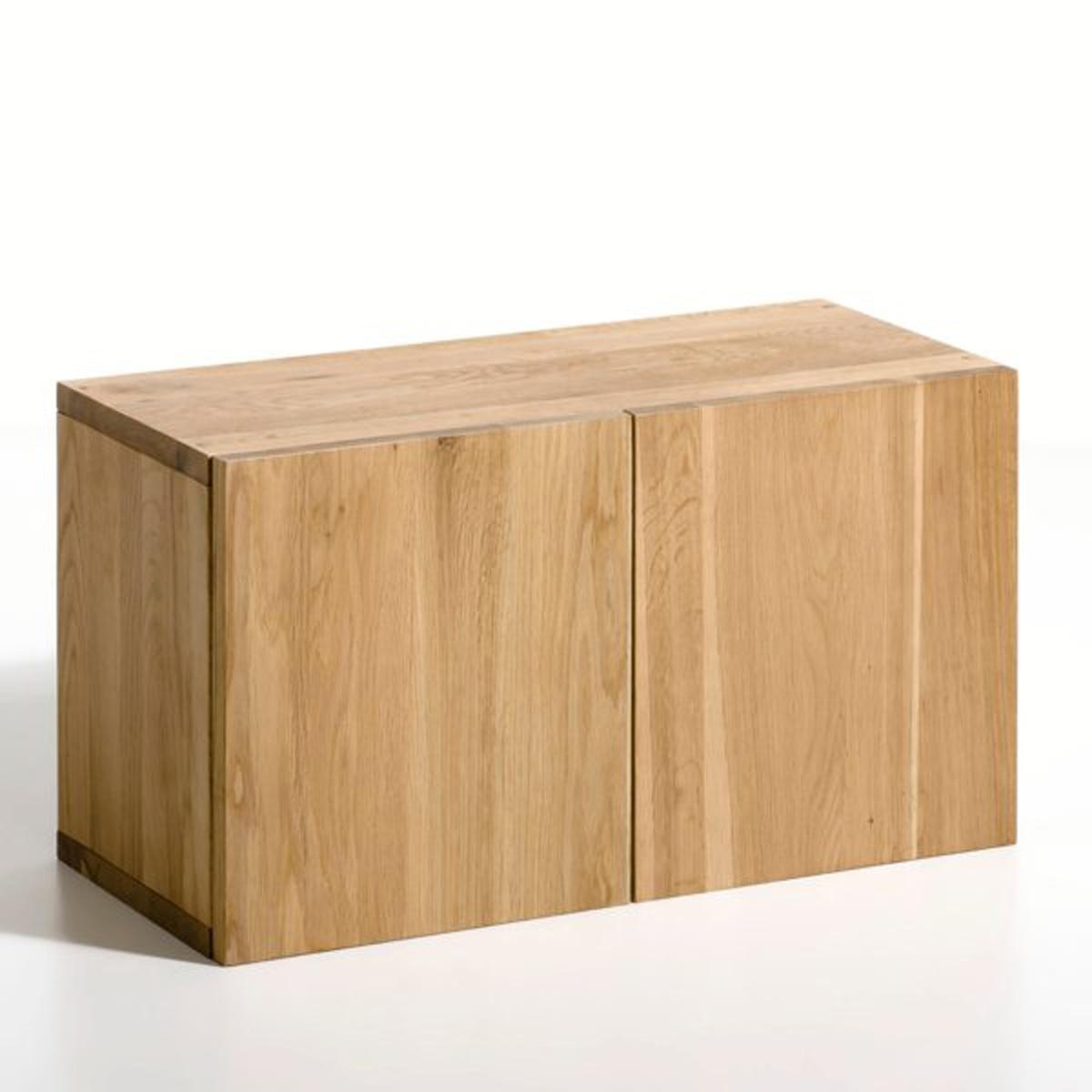 Ящик с 2 дверками длиной 60 см из массива дуба, TaktikМодулируемая система для хранения вещей, в минималистическом дизайне, создана для любых пространств.Уголковые кронштейны (в продаже на нашем сайте) позволяют регулировать высоту ящиков по вашему усмотрению и обеспечивают надежное крепление.Стойки, уголковые кронштейны, этажерки, ящики: продаются отдельно.Характеристики:- Из массива дуба.- Поставляется готовым к сборке, инструкция прилагается.Размеры:- Д.60 x Г.25 x В.38 см.Размеры и вес упаковки: - Д.69,5 x В.13,5 x Г.45,5 см, 12 кг.<br><br>Цвет: натуральный дуб