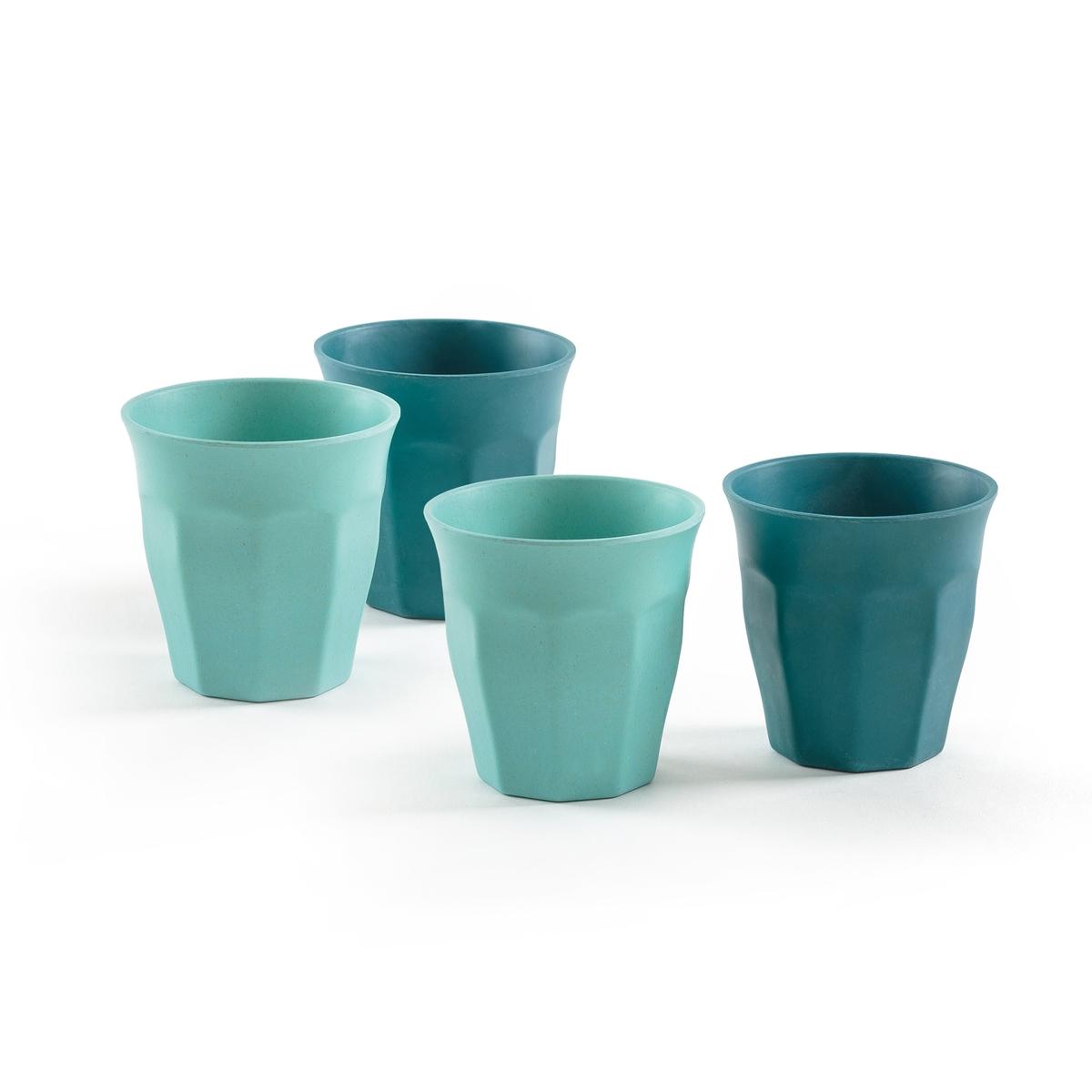 Комплект из 4 стаканов из бамбукового волокна, BOJAОписание:Комплект из 4 стаканов из бамбукового волокна La Redoute Interieurs : аутентичный крашеный бамбук для оригинальной композиции стола.Характеристики 4 стаканов : •  Бамбуковое волокно •  Форма бокала  •  2 соответствующие расцветкиРазмеры 4 стаканов : •  Размеры 8,8 x 8,8 смВсю коллекцию столового декора вы найдете на сайте laredoute.ru<br><br>Цвет: розовый
