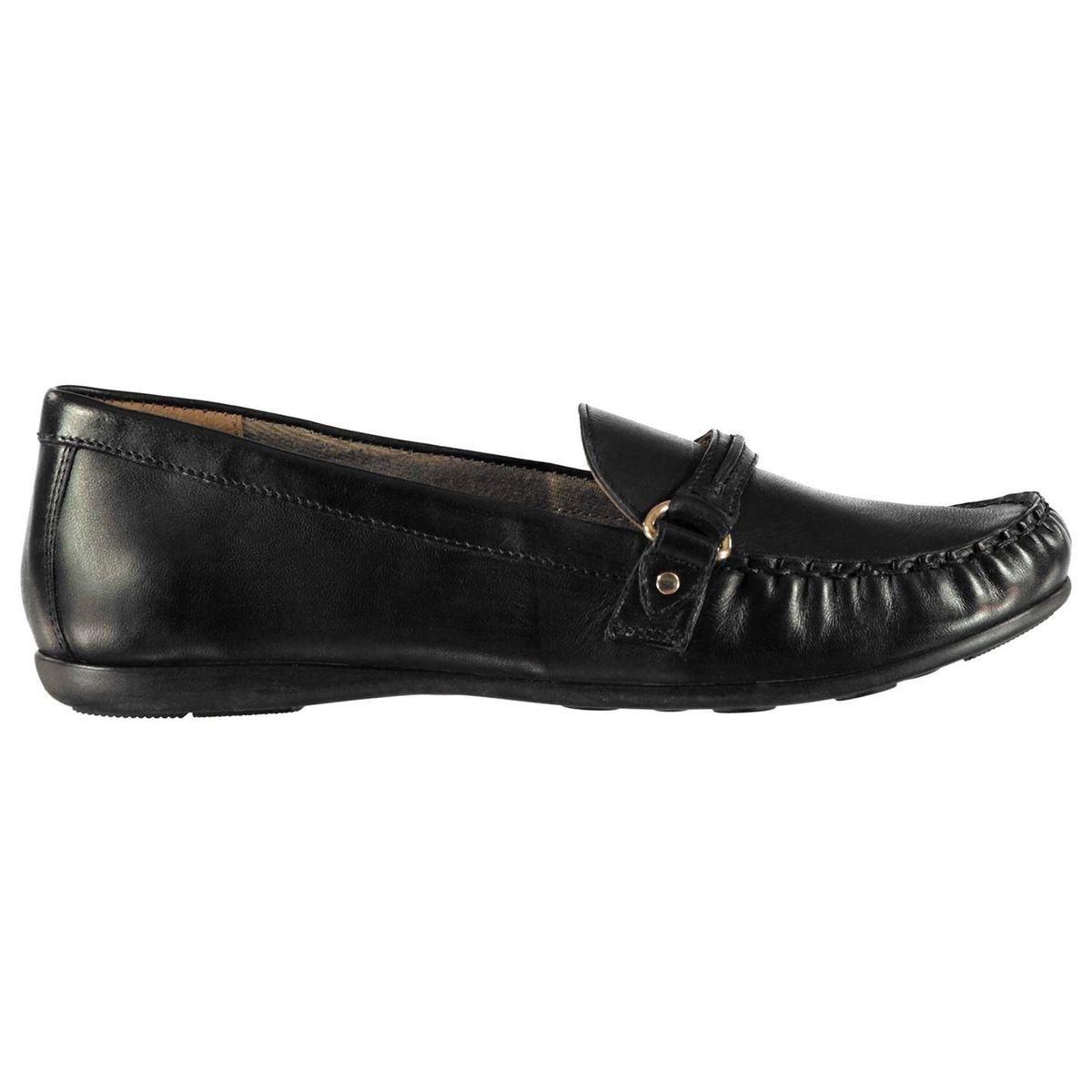 Chaussures mocassins en cuir