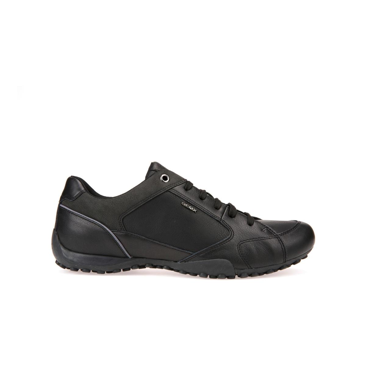 Кеды SnakeДетали  •  Спортивный стиль •  Плоский каблук •  Застежка : шнуровкаСостав и уход  •  Верх 48% полиуретана, 52% замши •  Подкладка 100% полиэстер •  Стелька 100% полиэстер<br><br>Цвет: черный