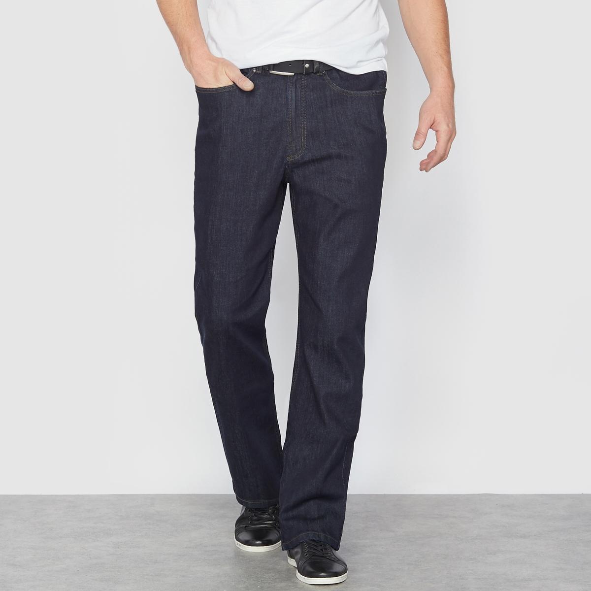Jeans stretch corte standard, cós elástico, comp. 1