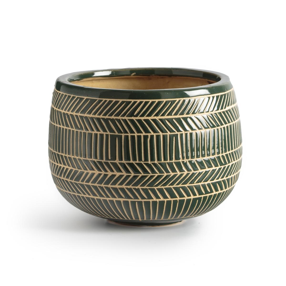 Fioriera in ceramica, altezza. 16 cm SENSHAH