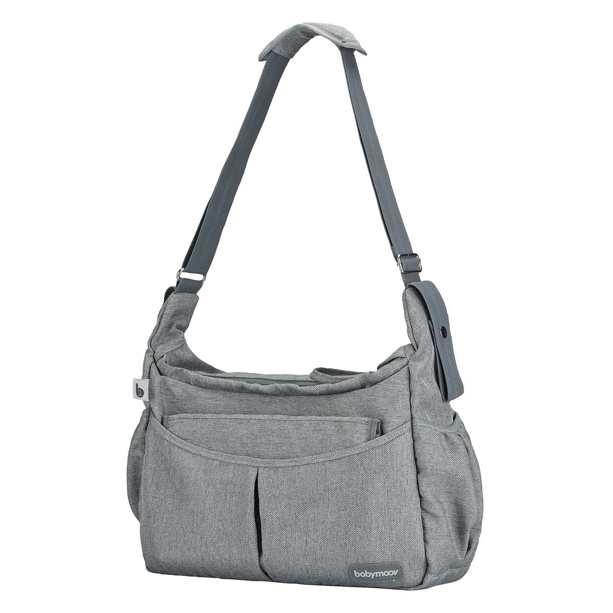 An image of Babymoov Urban Bag Smokey Changing Bag