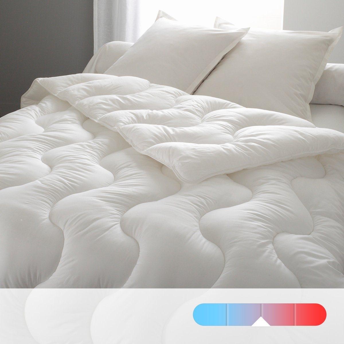 Одеяло синтетическое с чехлом из натурального материала, высокое качество от La Redoute