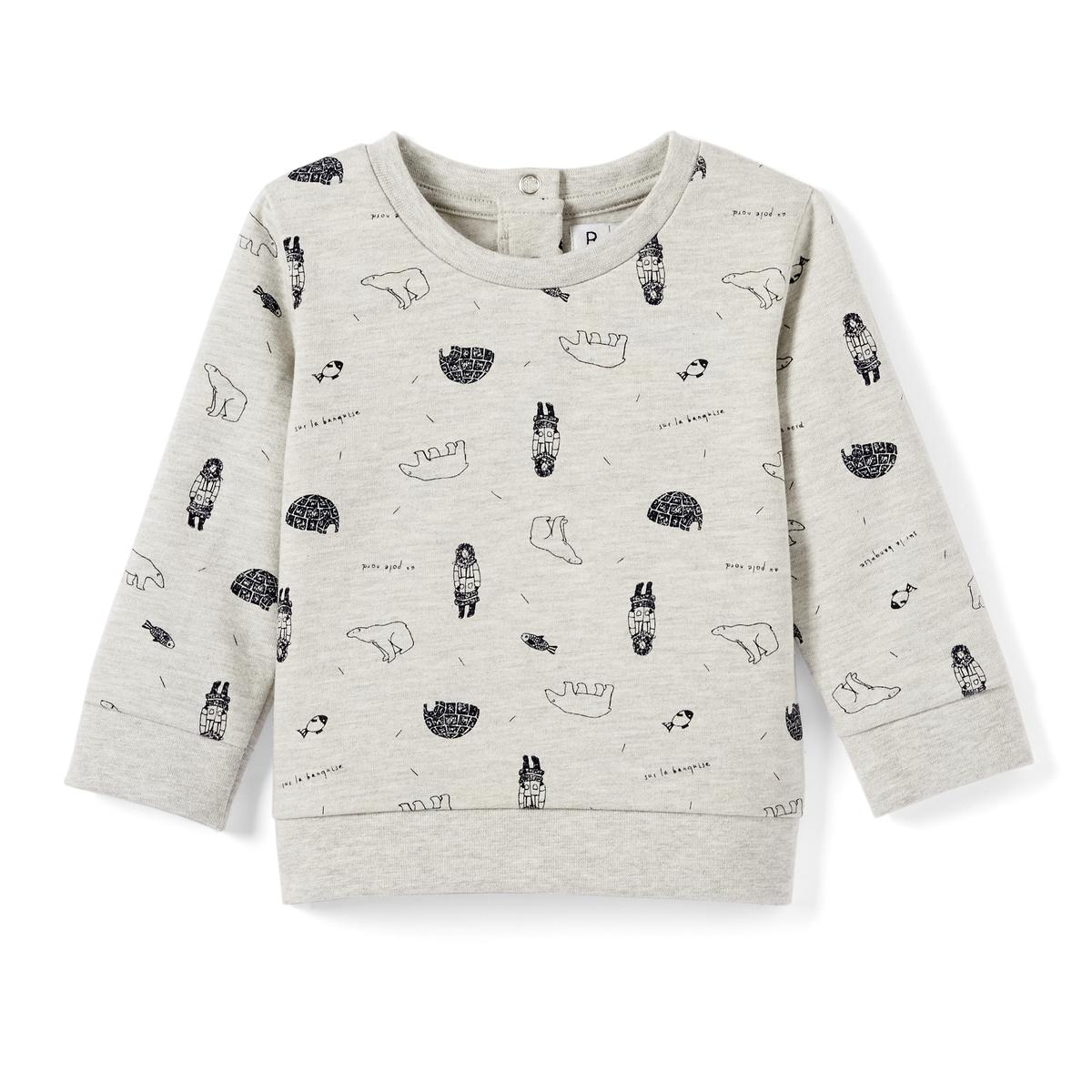 Пуловер ML AOP, 1 мес. - 3 лет