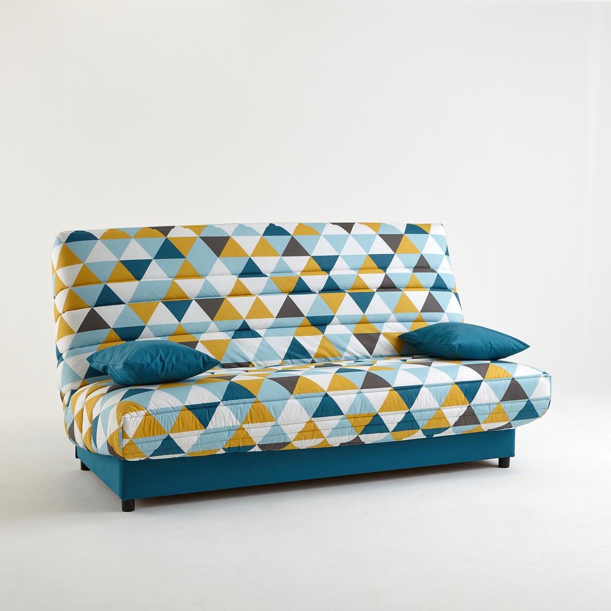 Чехол стеганый для дивана-книжки и складной тумбы, 250 г/м² от La Redoute