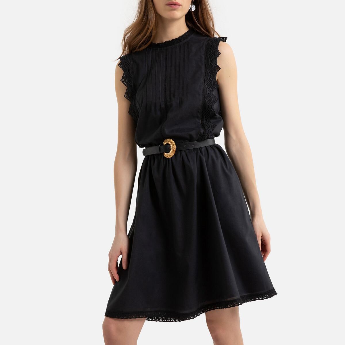Платье La Redoute Без рукавов 46 (FR) - 52 (RUS) черный
