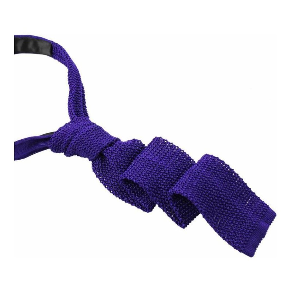 Cravate tricot soie intemporelle tony