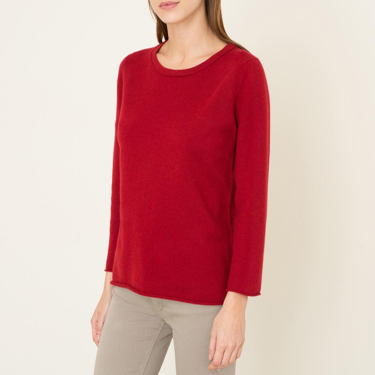 Пуловер HANNAH, 100% кашемирСостав и описание :         Материал : 100% кашемир          Марка : LA BRAND BOUTIQUE<br><br>Цвет: кирпичный