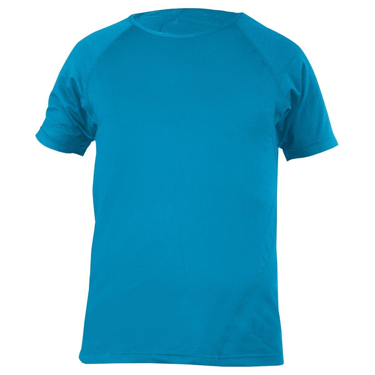 Yoga-T-Shirt, men - aqua aqua