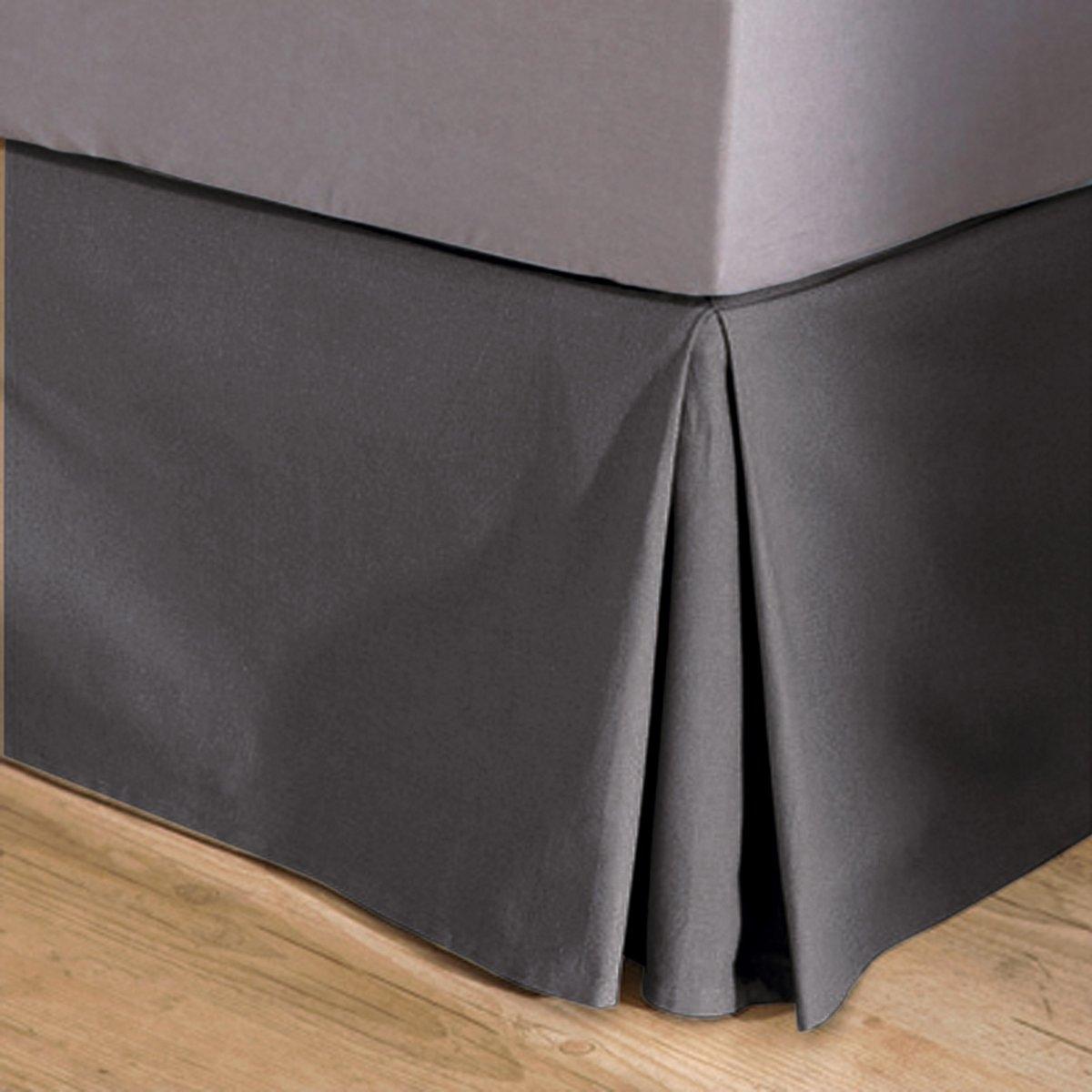 НаматрасникКачество VALEUR S?RE. Плотная, очень прочная и простая в уходе ткань, 100% хлопка (215 г/м?). Изысканная отделка. Закрывает 3 стороны кровати (сторона изголовья не закрыта). Высота боковых клапанов 30 см. Углы со встречными складками. Стирка при 40°.<br><br>Цвет: антрацит,белый,медовый,облачно-серый,розовая пудра,серо-коричневый каштан,сине-зеленый,синий индиго,сливовый,черный,экрю<br>Размер: 90 x 190 см.140 x 190  см.160 x 200 см.90 x 190 см.90 x 190 см.140 x 190  см.140 x 190  см.160 x 200 см.160 x 200 см