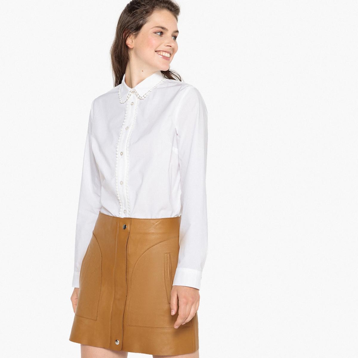 Camisa de manga larga con galón