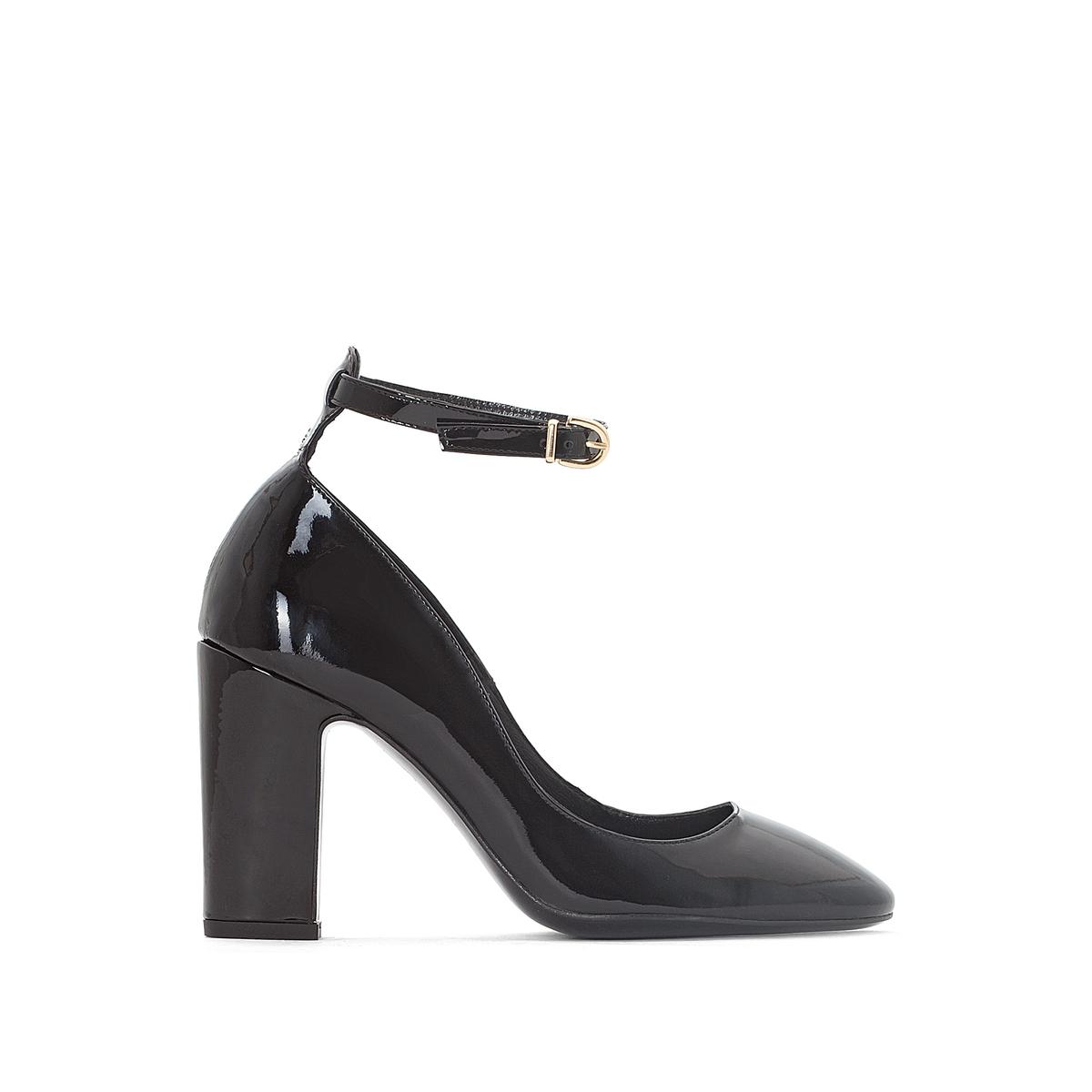 Босоножки из лакированной кожи на каблуке цены онлайн