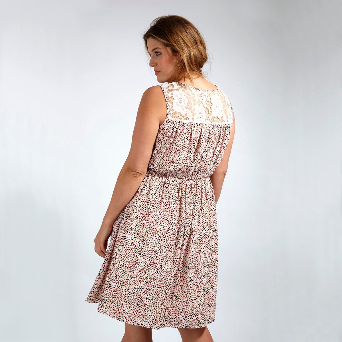 Платье<br><br>Цвет: набивной рисунок