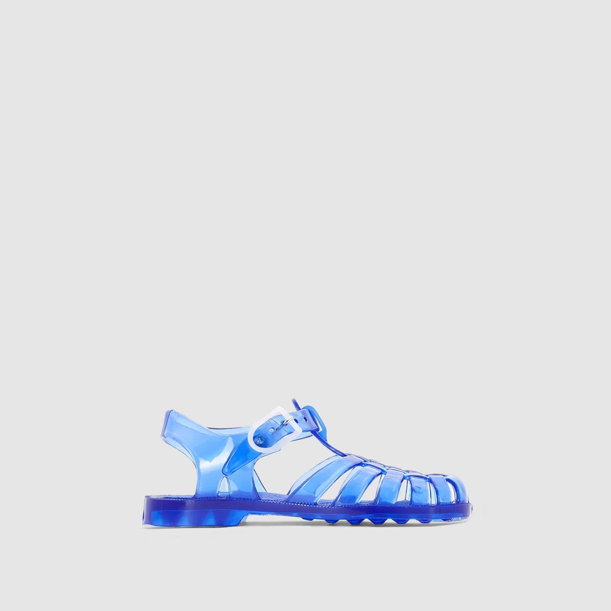 Босоножки La Redoute Размеры - 19 синий салфетка столовая коралл 3249 пвх поливинилхлорид