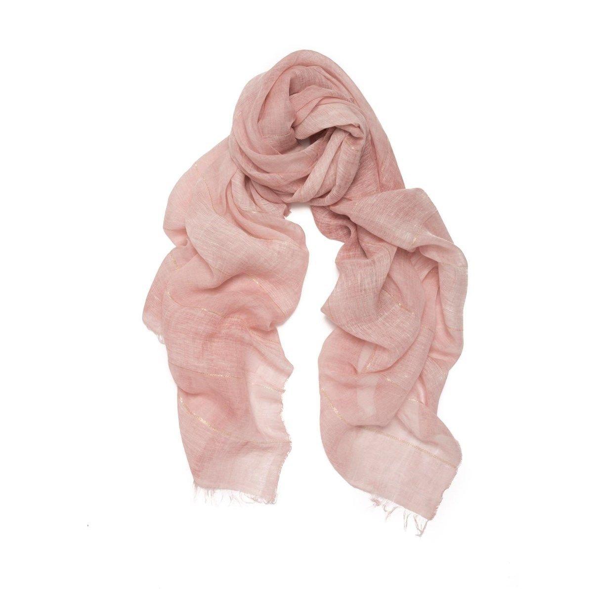 Foulard en lin et Fil textile®  Desert