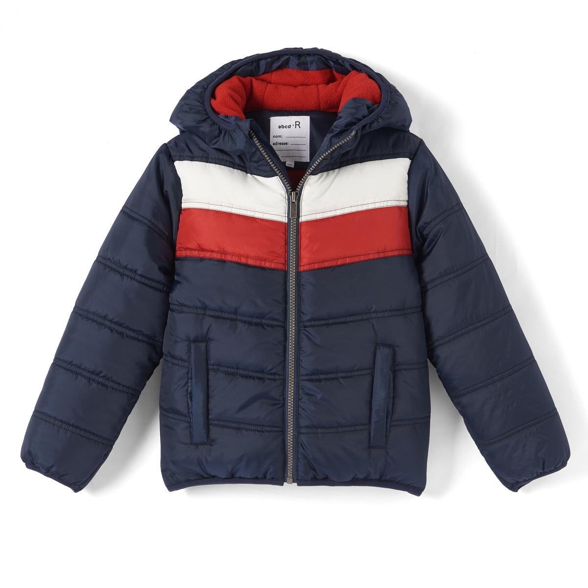 Куртка стеганая с капюшоном 3-12 лет куртка из твида 3 12 лет