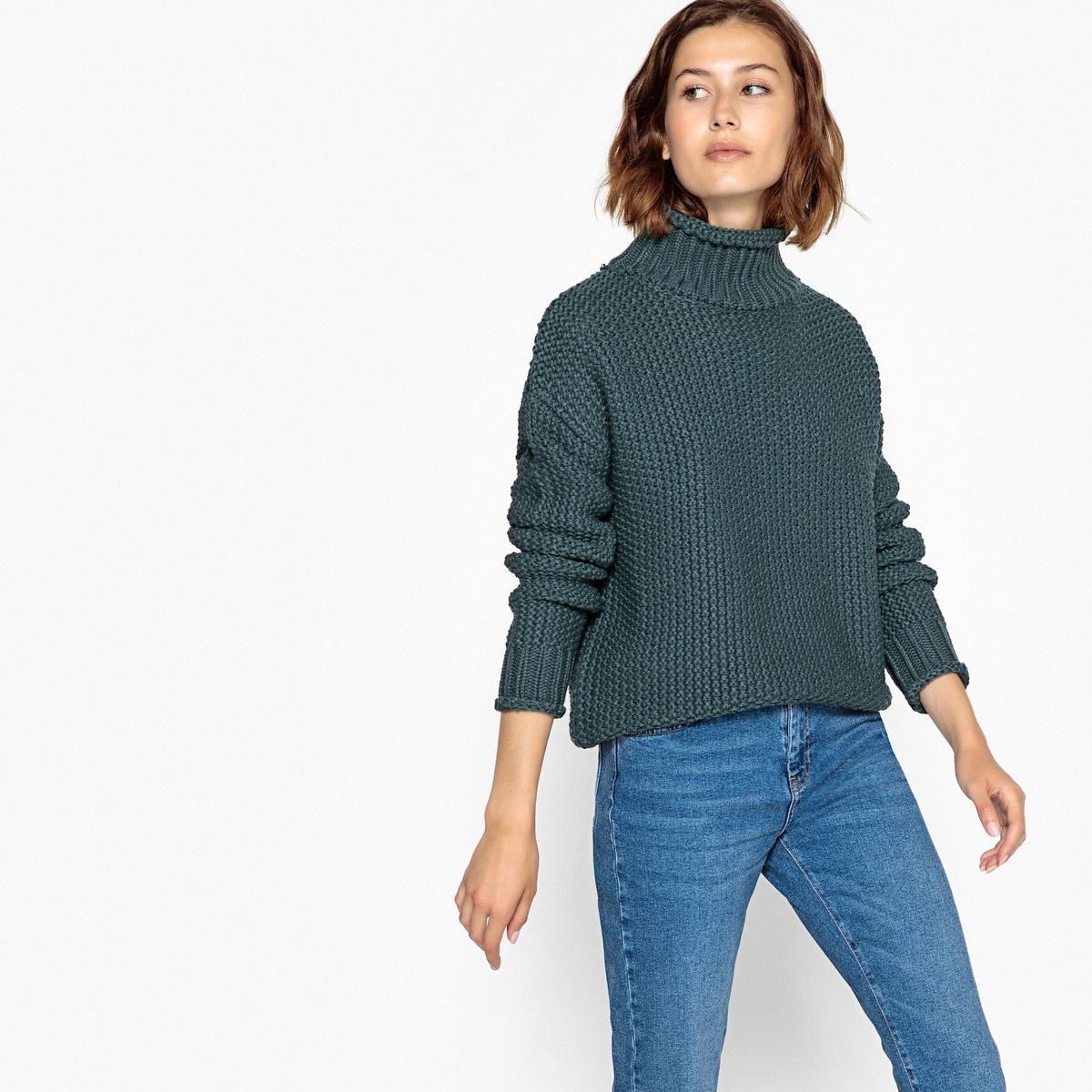 Пуловер-водолазка из плотного трикотажа пуловер из плотного трикотажа cameron