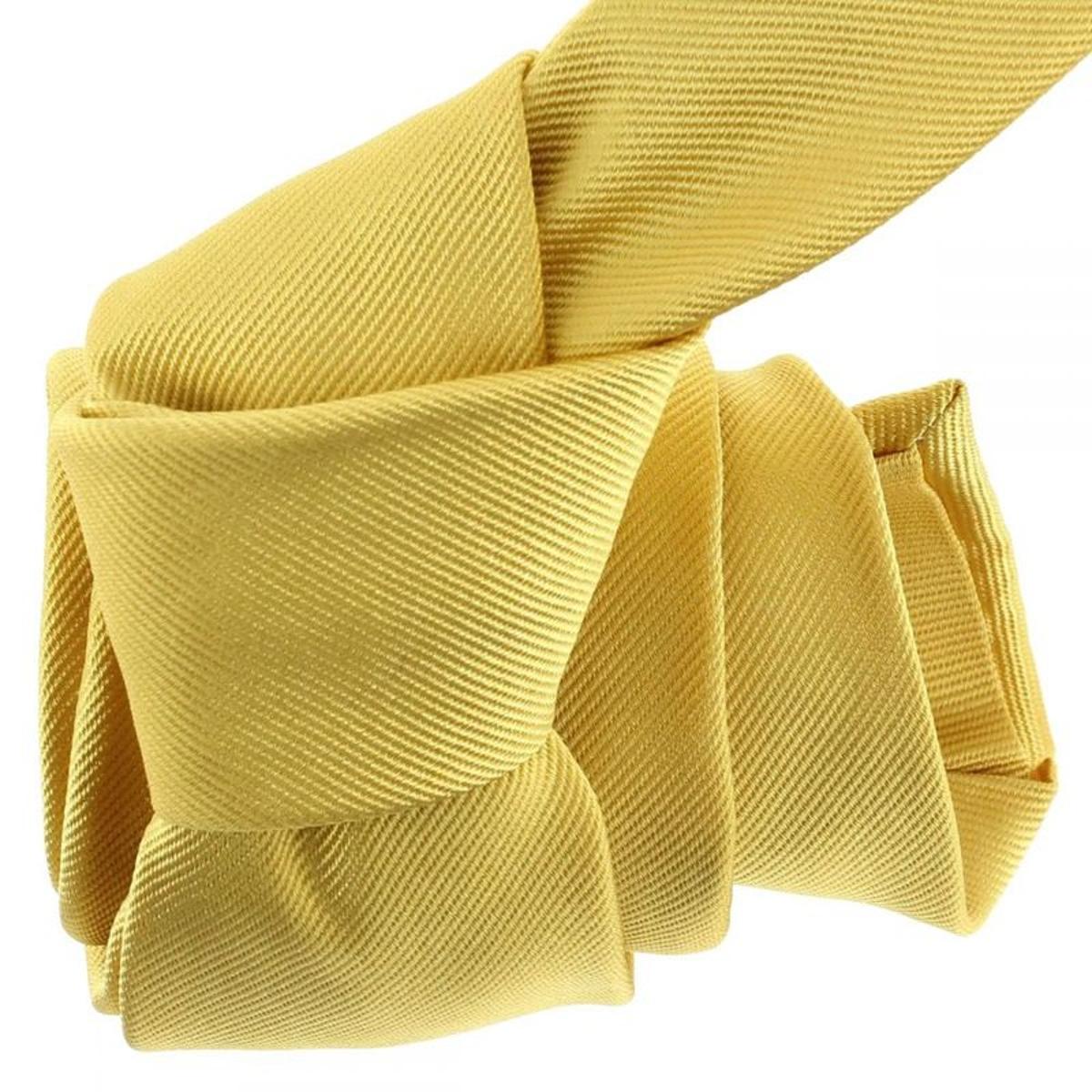 Cravate luxe luxe faite à la main. Soie Uni