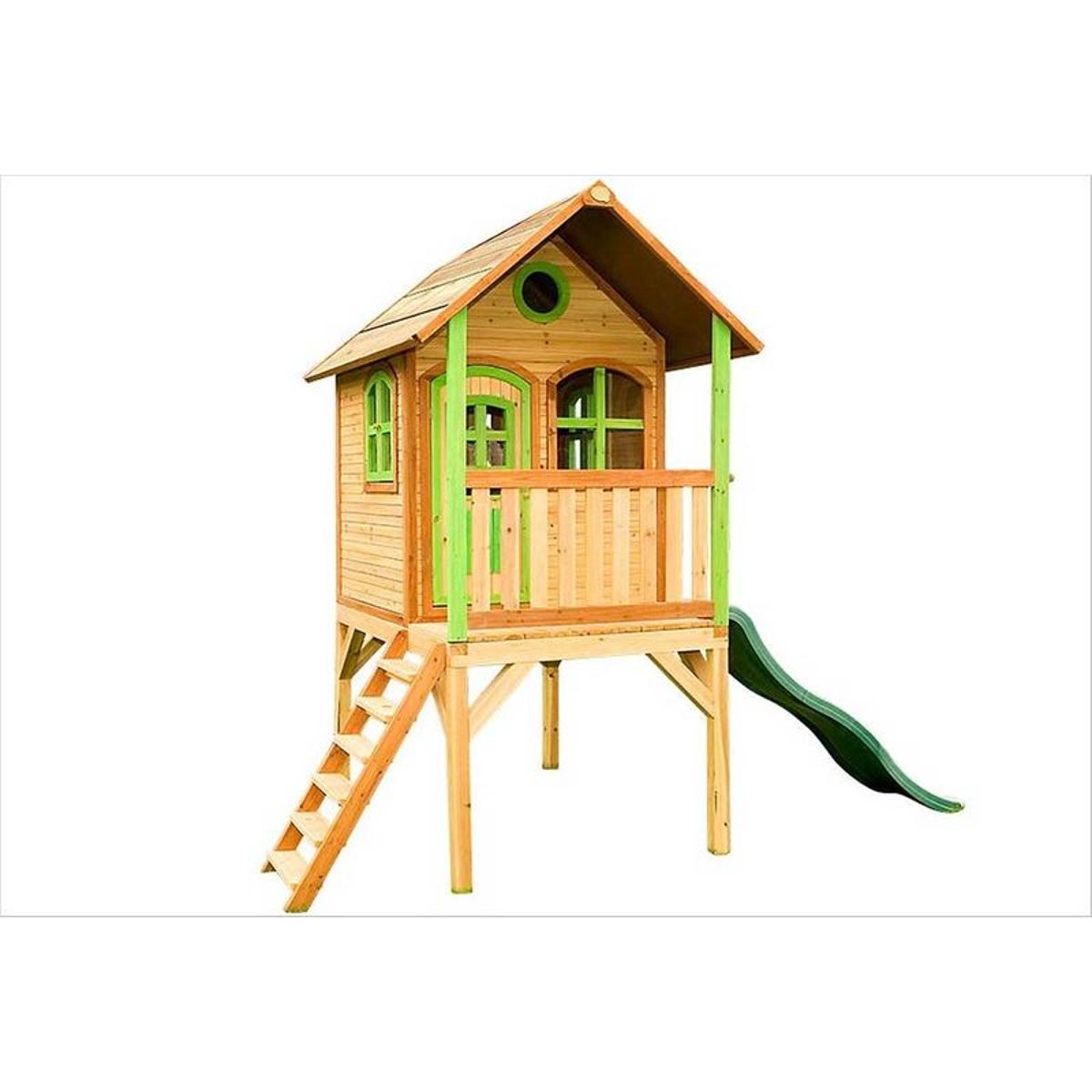 Cabane enfant en bois sur pilotis Laura