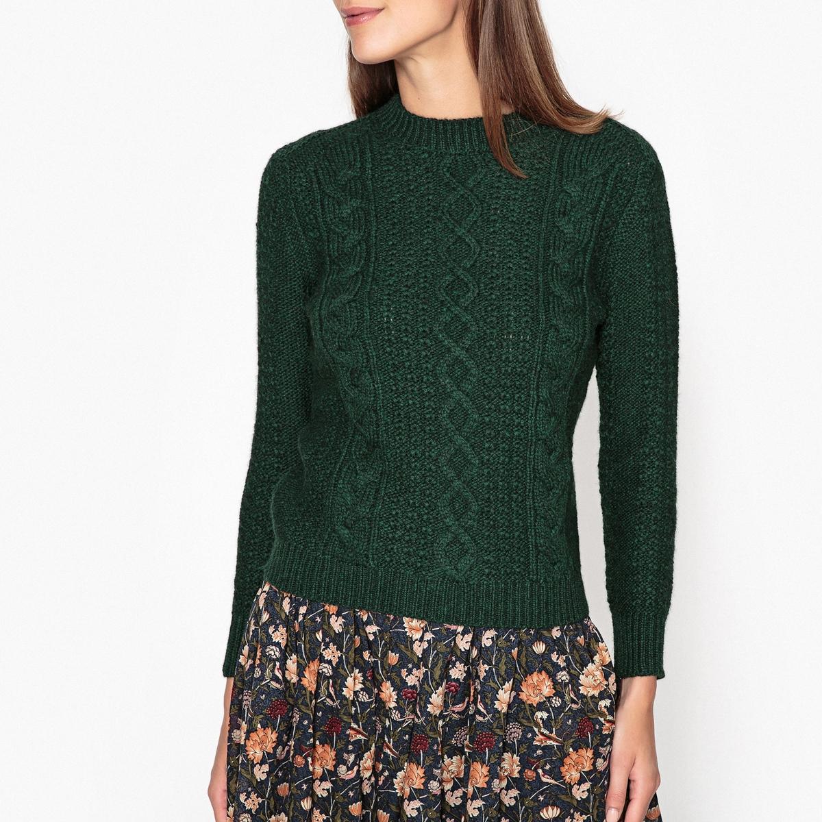 Пуловер с рисунком косы COLBERT