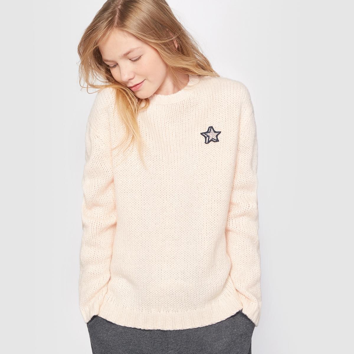 Пуловер с принтом на 10-16 лет