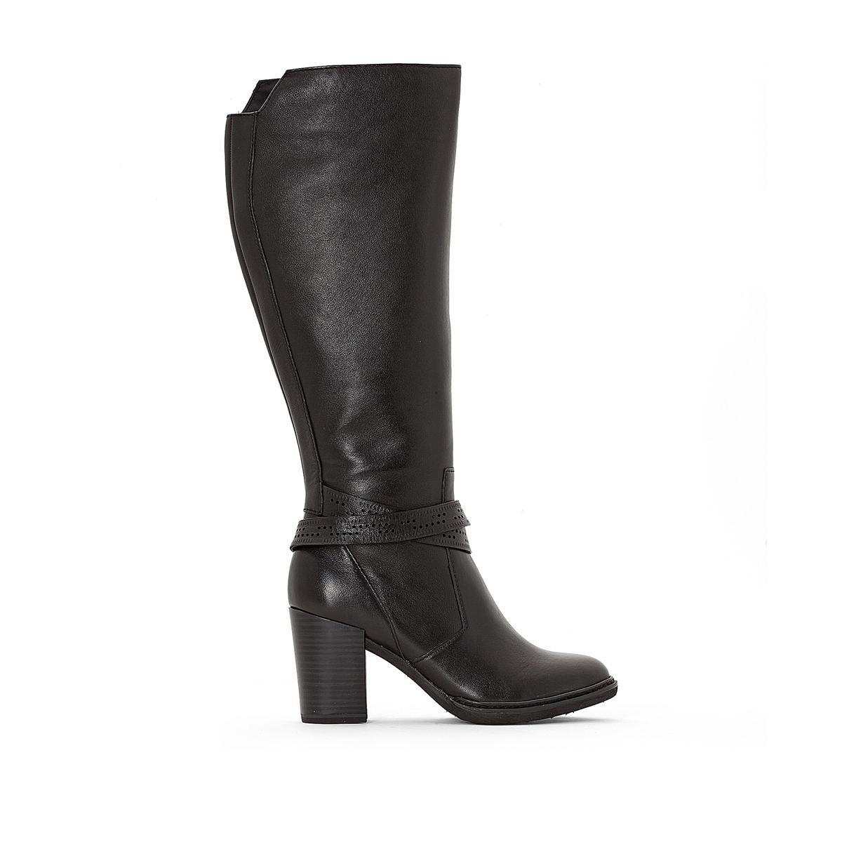 Сапоги кожаные 25556-27