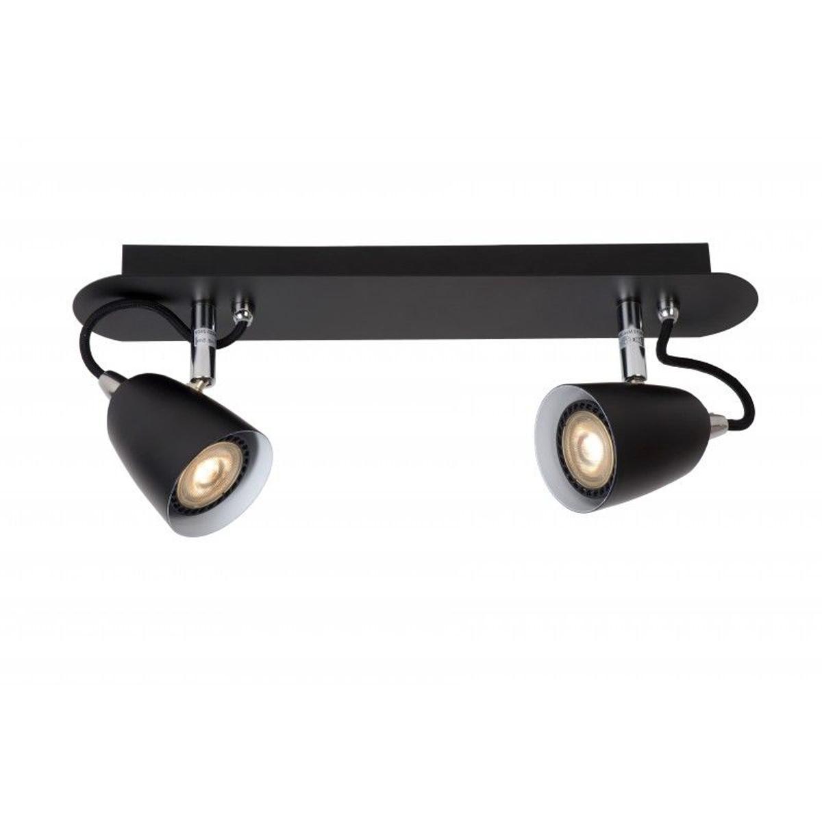 Spot Plafond Ride LED - LED Dim. - GU10 - 2x5W 3000K