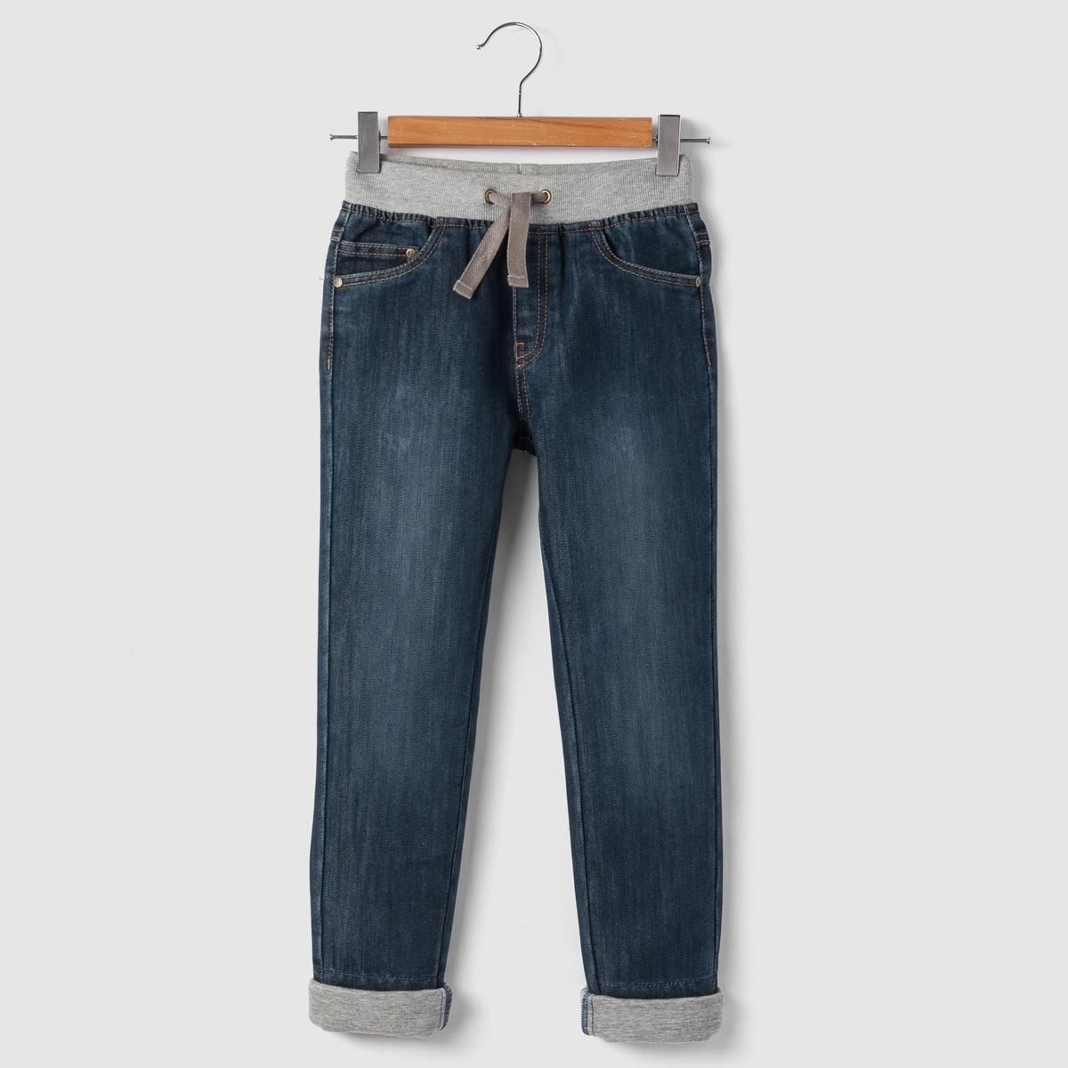 Джинсы без застежки, 3-12 лет джинсы boyfit 3 12 лет
