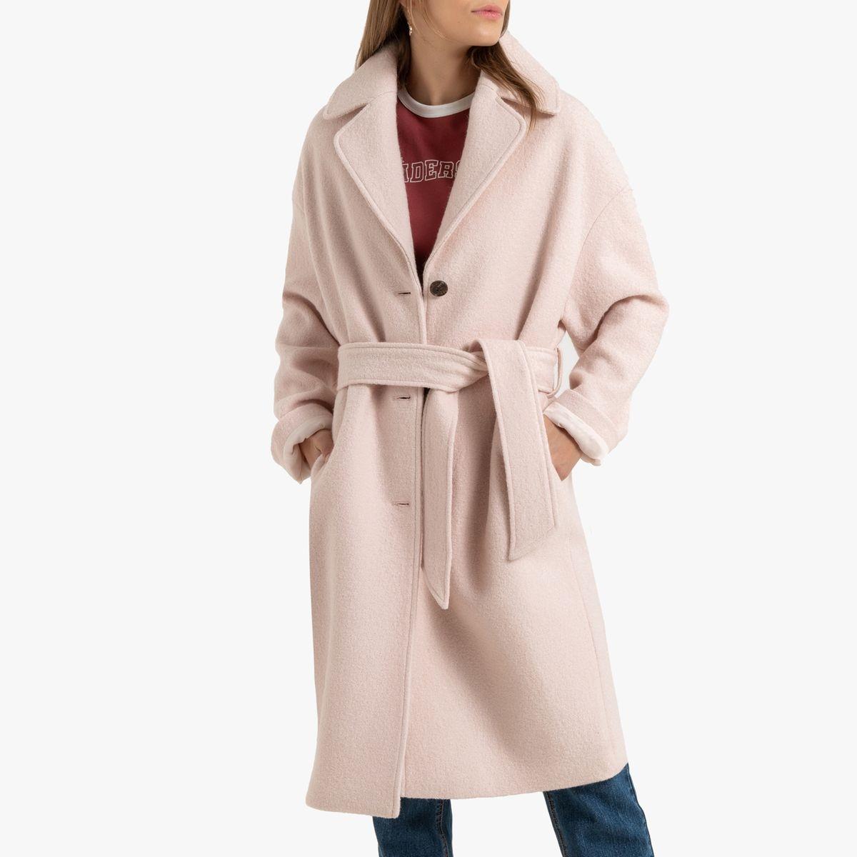 Manteau ample mi-long