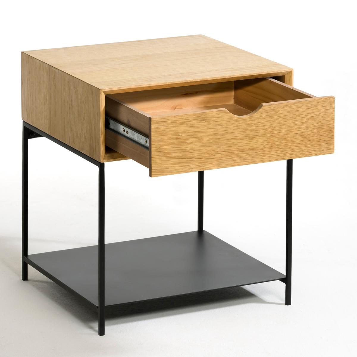 Столик прикроватный Mambo из дуба столик прикроватный в винтажном стиле jimi
