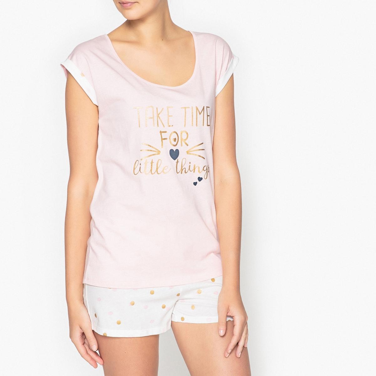 Пижама с шортами с рисунком пижама с шортами nici
