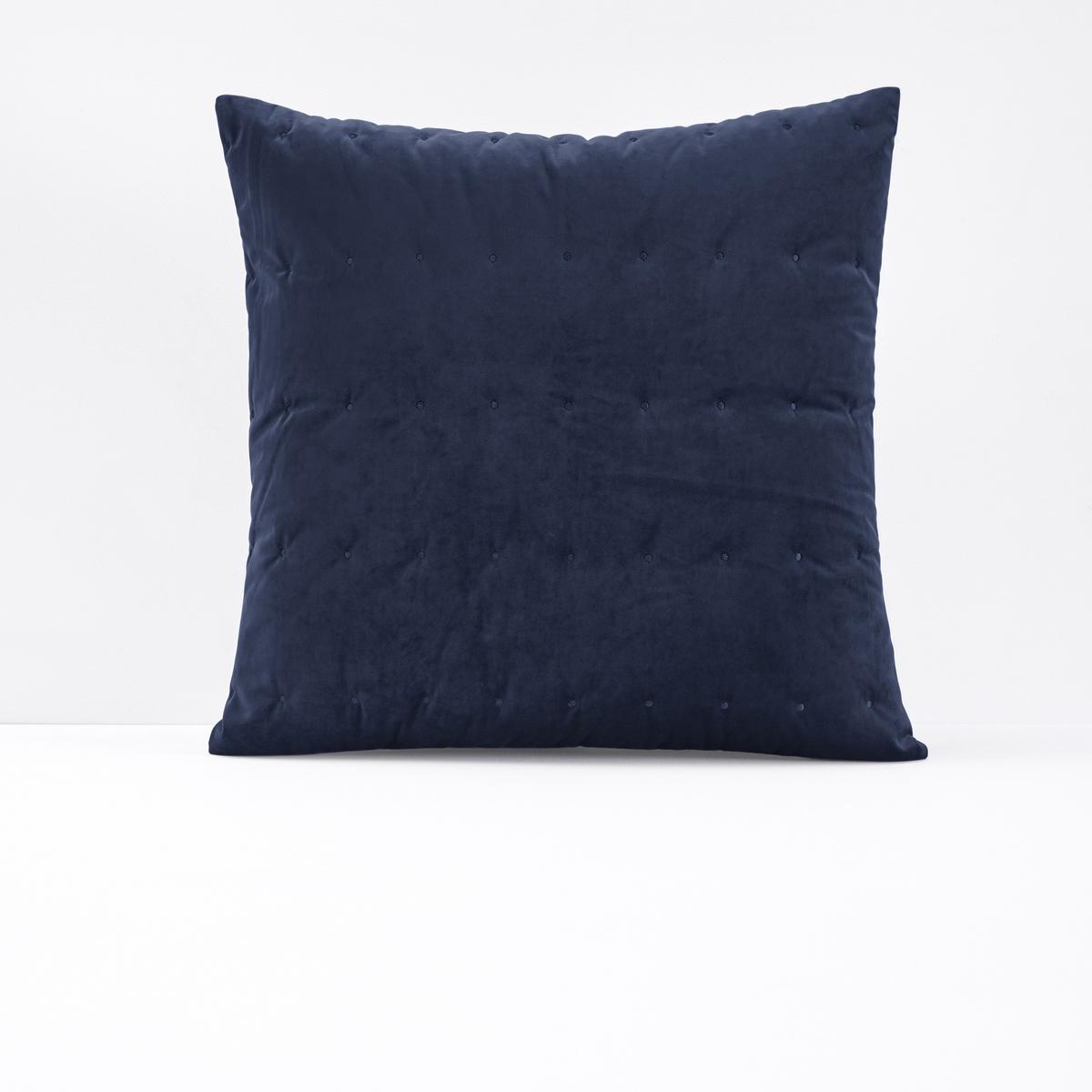 Чехол на подушку из велюра с вышивкой PETIPON. кресло низкое и широкое в винтажном стиле из велюра с бахромой ramona